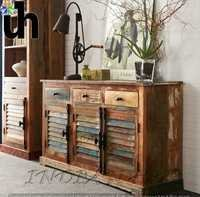 Wood Large Sideboard