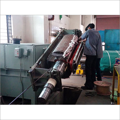 SEMI-AUTOMATIC COIL WINDING MACHINE FOR MAIN ROTOR