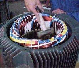 AC Motor Stator Rewinding