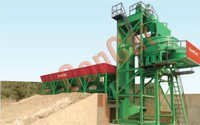 CP INLINE SERIES CONCRETE BATCHING & MIXING PLANT