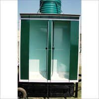 Two Seater Portable Toilet