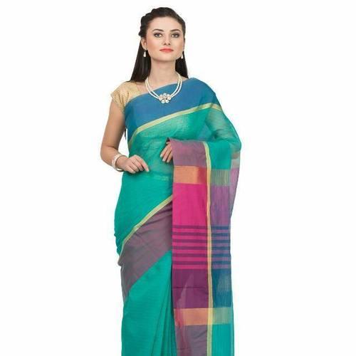 Simple Cotton Silk  Saree