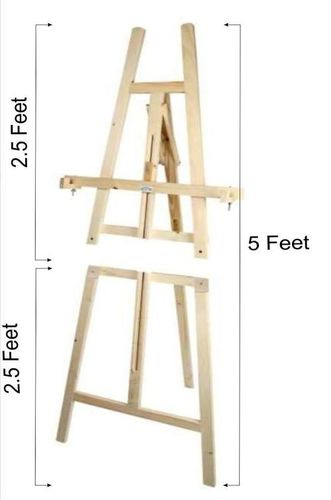 Folding Easel 5 Feet 2 in 1