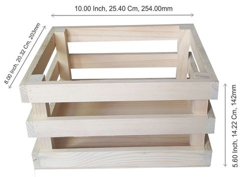 Wooden Gift Box - A