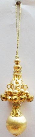 GOLDEN Lehnga saree tassel