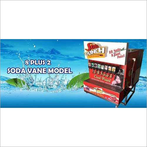 8+2 Mobile Van Soda Machine