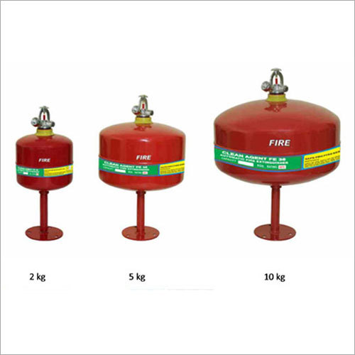 Automatic Roof Unit Fire Extinguishers