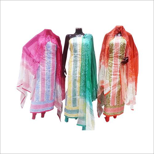 Designer Cotton Unstiched Suit