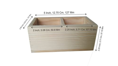 Wooden Storage Organiser.
