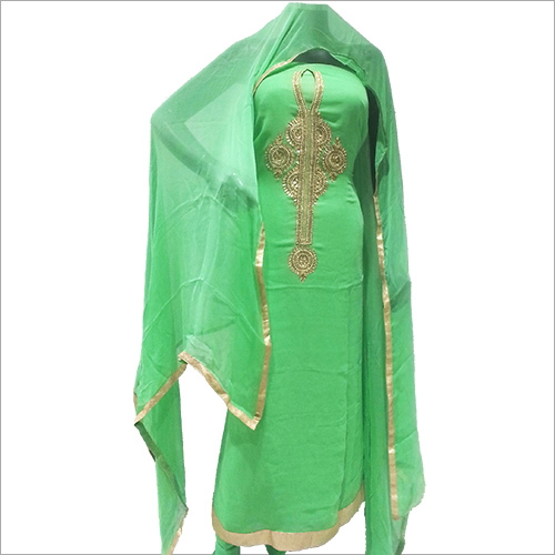 Ladies Designer Embroided Suit