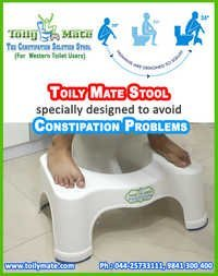 Foot Stool for Western Toilet Users