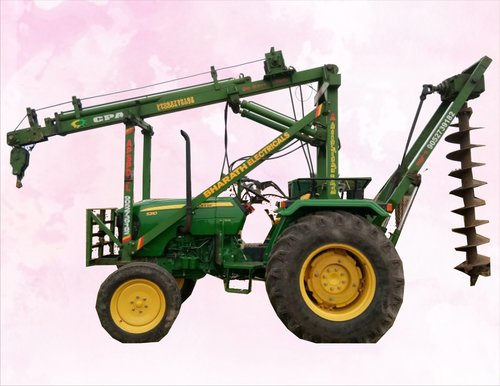 Tractor Mounted Post Holes Drilling Rig
