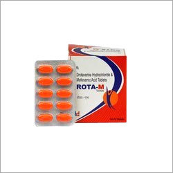 Drotaverine HCL 80mg Mefenamic Acid 250mg Tablets