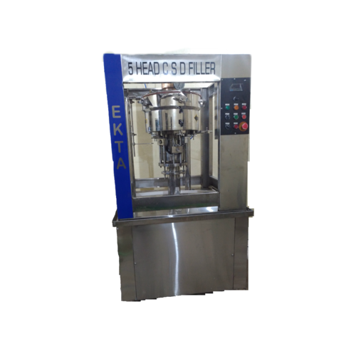 Semi Automatic Pet Soda Bottle Filling Machine