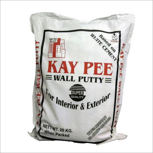White Cement Based Dry Putty