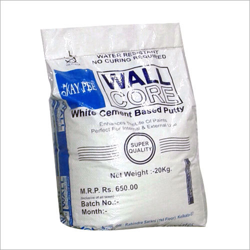 White Cement Based Putty