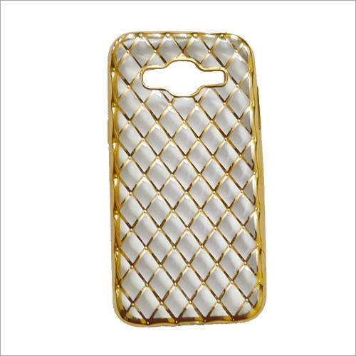 Designer Gold Back Mobile Cover