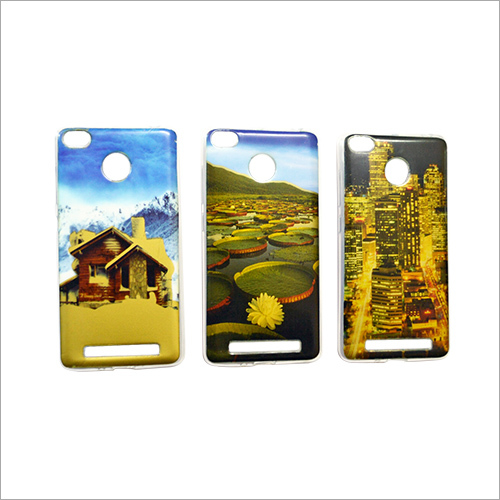 Printed Back Mobile Cover