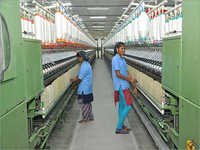 Cotton Polyester Slub Yarn
