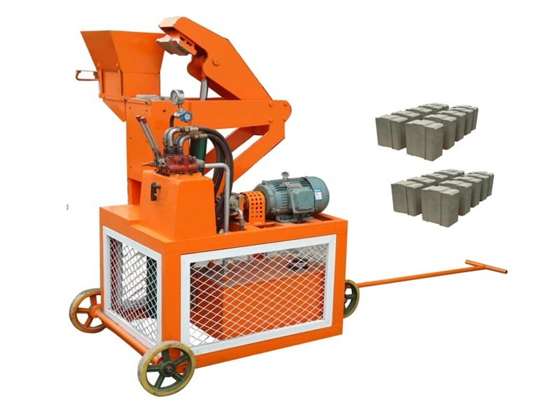 Double Press Hydraulic Interlocking Block Machine