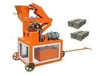 Double Press Hydraulic Interlocking Block Machine