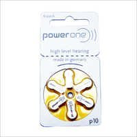 Hearing Aid Battery P10