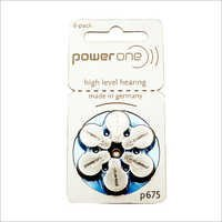 P675 Hearing Aid Battery