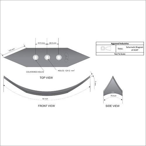 Cultivator Shovel Light Weight