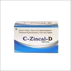 Calcium Citrate Vit D Mecobalamin Pyridoxine Folic