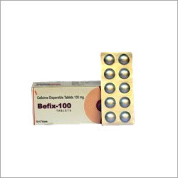 100mg Cefixime  Dispersible Tablet alu