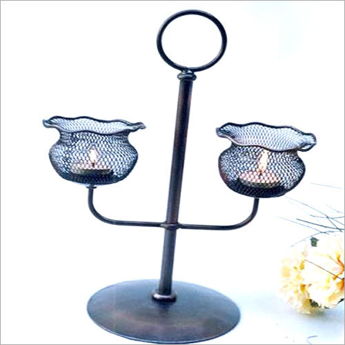 Two Tier Candle Stands