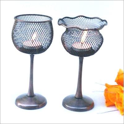 Metal Decorative Candle Votive Holder