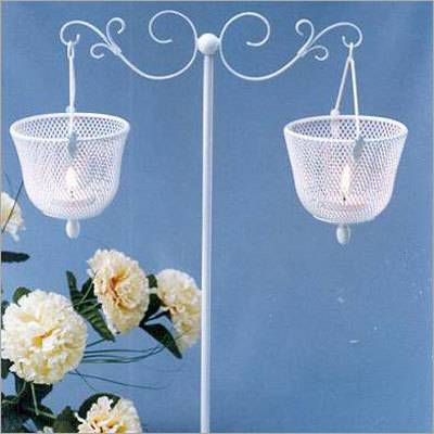 Two Tier Candle Stand Hanging