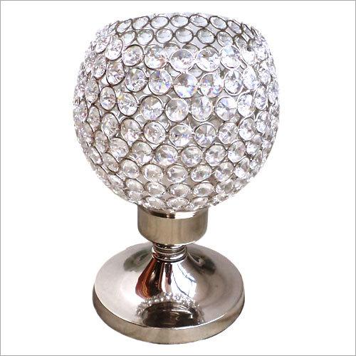 Decorative Crystal Bead Votive Holders