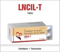 Clinidipine 10mg + Telmisartan 40mg