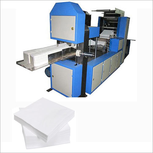Automatic Napkin Making Machine