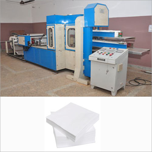 Double Decker Paper Napkin Making Machine