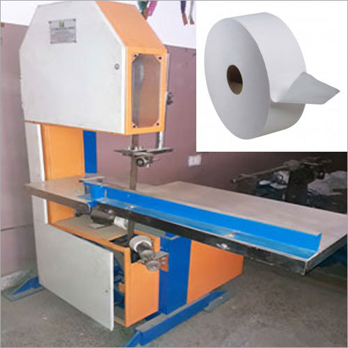 Toilet Roll Slicer Machine
