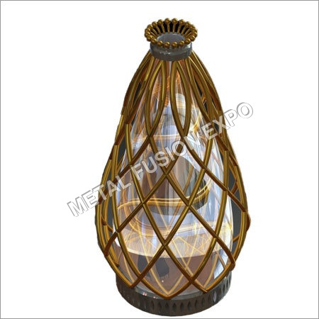 Pineapple Design Candle Holder
