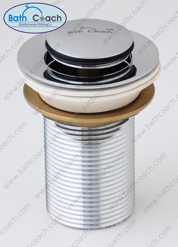 Brass Pop Up Waste Coupling For Basin