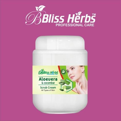 Aloe Vera & Cucumber Scrub Cream