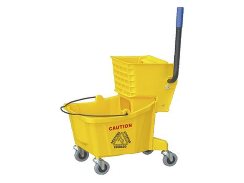 32L multifunctional single mop wringer trolley