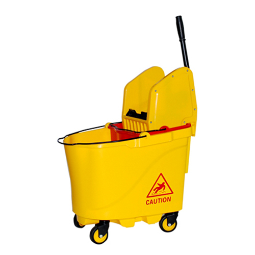 Down-Press Double Mop Wringer Trolley For Home/Hotel