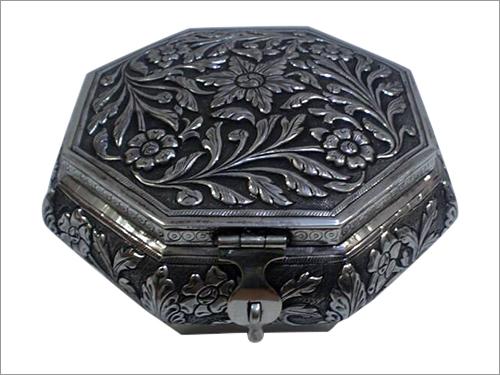 Silver Mukhwas Box