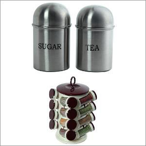 Metal Kitchen Canister