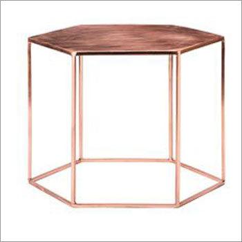 Copper Hexagonal Coffee Table