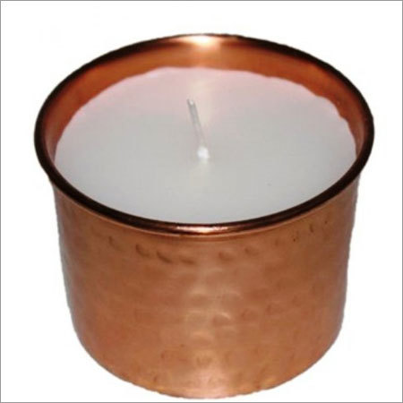 Copper Candle Votive Holder