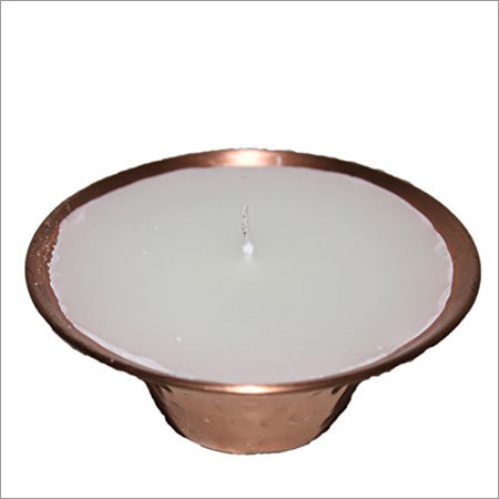 Copper Candle Votive