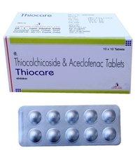 Thiocolchicoside Aceclofenac Tablet