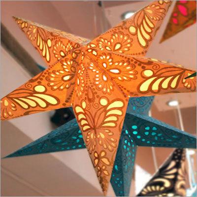 Handmade hanging star